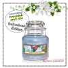 Yankee Candle / Small Jar Candle 3.7 oz. (Garden Sweet Pea)