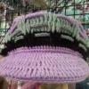 หมวกแบบมีปีก ผู้ใหญ่ 10 ใบคละแบบสี
