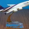 โมเดล เครื่องบิน การบินไทย THAI Airline Airbus A380 Diecast Model ทำจากเหล็ก scale 1:400 no 9068853