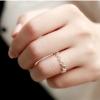 แหวนแฟชั่นเงินS925รูปดาวสีเงิน