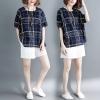 JY25631#เสื้อOversizeสไตล์เกาหลี เสื้อโอเวอร์ไซส์แต่งลายแนวๆ อก*100ซม.ขึ้นไปประมาณ40-42นิ้วขึ้น