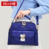 กระเป๋าสะพาย สีน้ำเงินอมม่วง-Axixi