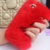เคส Samsung galaxy note 3 n9000 เคสขนเฟอร์ ขนกระต่ายแท้ ขนนุ่มสุด ๆ สีแดงสด เข้ากับสาวเปรี้ยว 10120_2