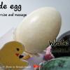 ไข่หยก ใช้นวดหน้านวดตัวและบริหารข้อมือ Jade egg for exercise and massage. EGG01