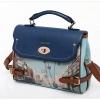 กระเป๋าถือ/สะพาย Axixi รุ่น 10551 สีน้ำเงิน