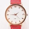 นาฬิกาข้อมือ วัยรุ่น ผ้ายีนส์ ดีไซน์ เก๋ นาฬิกาข้อมือผู้หญิง นาฬิกา Marc ใส่กับ เสื้อยืด กางเกงยีนส์ เก๋ ๆ สายสีชมพู ฟ้า ดำ เหลือง ขาว น้ำเงิน ยีนส์ 207359