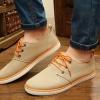 รองเท้าผ้าใบ ผู้ชาย รองเท้าใส่เที่ยว รองเท้าหุ้มส้น ผ้าแคนวาส หรือ ผ้ายีนส์ สีน้ำตาลอ่อน กากี เข้ากับทุกชุด รองเท้าแบบ sport ใส่เที่ยว 594653_3
