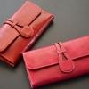 กระเป๋าสตางค์ผู้หญิง ใบยาว กระเป๋าถือ ออกงาน กระเป๋าสตางค์ หนังแท้ หนังมันเงา ยิ่งใช้ยิ่งสวย ของขวัญให้ผู้ใหญ่ ดูดีมีระดับ กระเป๋าสตางค์หรู 118465