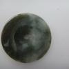 จี้หยกเบี้ยกลมใหญ่ Big Polo Jade Pendant P0203Y