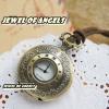 นาฬิกาพก,นาฬิกาสร้อยคอโบราณโชว์หน้าปัดฝาหน้าเลขโรมัน