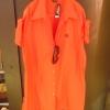 เชิ้ตตัวยาว สีส้ม