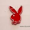 หัว Playboy สีแดง