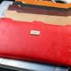 กระเป๋าสตางค์ผู้หญิง ใบยาว กระเป๋าสตางค์ หนังนิ่ม ทรงแบน เน้น ใส่บัตร มีช่องซิป ด้านนอก ใส่เศษสตางค์ ใส่แบ้งค์ สวยหรู สีน้ำตาล ดำ แดง ส้ม 710787