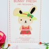 Bunny Fresh / Air Freshener (Strawberry)