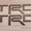 สติ๊กเกอร์ TRD สีเทา Vigo Champ