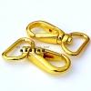 """คอหมา ก้านดีด (3/4"""") สีทอง (หนา)"""