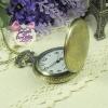 นาฬิกาพก,นาฬิกาสร้อยคอลายวินเทจฝาหน้าทึบ