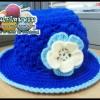 หมวกถักไหมพรม ลายสวย