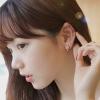stock1 Fashion earrings ต่างหูแมวสีชมพูที่แสนน่ารัก
