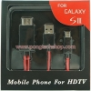 HDTV Adapter-Micro USB สำหรับ Galaxy Note2 S3 S2 Note1