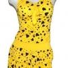 ชุดว่ายน้ำทูพีช แบบ ไม่โป้ สีเหลือง ลายหัวใจ สีดำ สินค้านำเข้า น่ารักสุดๆ Free size no 691369