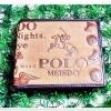 กระเป๋าสตางค์ผู้ชาย กระเป๋าสตางค์ Polo หนังกลับ สีน้ำตาลอ่อน มีซิปด้านใน ช่องใส่รูป ใส่บัตร no p1016