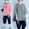 JY25021#เสื้อOversizeสไตล์เกาหลี เสื้อโอเวอร์ไซส์แต่งลายแนวๆ อก*100ซม.ขึ้นไปประมาณ40-42นิ้วขึ้น
