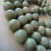 P108J21 ประคำหยกสีเขียวอ่อน 108 เม็ดขนาด13มิลหยกพม่าแท้สีธรรมชาติ 108-bead Myanmar jade