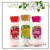 Bath & Body Works / Travel Size Body Lotion Trio (Twisted Peppermint, Vanilla Bean Noel, Winter Candy Apple) *Limited Edition