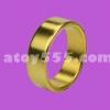 แหวนแม่เหล็ก  สีทอง ไม่มีลาย  20 mm (PK ring)