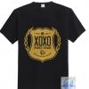 เสื้อ EXO xoxo สีดำโลโก้ทอง
