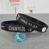 ริสแบนด์ Chanyeol สีดำ