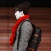 กระเป๋าสะพายสีดำ ใบโต สะพายได้ทั้งชายและหญิง