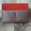YSL กระเป๋าสตางค์ - สีม่วงอ่อน ใบยาว