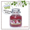 Yankee Candle / Small Jar Candle 3.7 oz. (Luscious Plum)