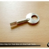 ดอกกุญแจขันต้วล็อค กล่องเก็บของบนถังน้ำมัน ของใหม่