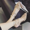 รองเท้าคัทชู ส้นสูงผู้หญิง เช็คสี ไซส์เลื่อนลงด้านล่าง เช็คสต็อกLINE:preorderdd