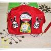 กระเป๋าใส่ของ กระเป๋าใส่เครื่องสำอางค์ Marc By Marc Jacob สีแดงใบใหญ่