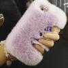 เคส iphone 6 6 plus เคสขนเฟอร์ ขนกระต่ายแท้ ขนาด 4.7 และ 5.5 นิ้ว เคสขนกระต่าย ทำความสะอาดได้ สีม่วงอ่อน ดอกลาเวนเดอร์ 403364_2
