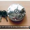 ฝาถังน้ำมัน จีบ แบบมีกุญแจล็อค และมีฝาปิดรูกุญแจ ของใหม่ครับ
