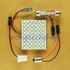 ไฟเพดาน LED 48SMD ชิบเล็ก สีขาว สว่างสุดๆ สำหรับใส่ในห้องโดยสารรถยนต์