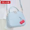 กระเป๋าสะพาย สีฟ้าอ่อน-Axixi