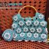 กระเป๋าถือต่อดอก+กระเป๋าปิ๊กแป๊ก (สินค้าพร้อมส่ง)
