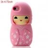 เคส iphone 6 ขนาด 4.7 นิ้ว เคสกิโมโน ตุ๊กตา จากประเทศญี่ปุ่น เคสซิโลโคน อย่างดี ตุ๊กตาใส่ชุดกิโมโน สีชมพู สาวหวาน น่ารัก ค่ะ 546970_2