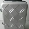 กระเป๋าเดินทาง ล้อลาก 4 ล้อ กระเป๋าเดินทางขนาด 20 นิ้ว กระเป๋าถือขึ้นเครื่องได้ แบบสวย สีเงิน มีระบบล็อค