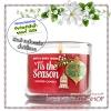 Bath & Body Works Slatkin & Co / Mini Candle 1.3 oz. (Tis The Season)
