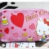 กระเป๋าใส่ดินสอ ใส่เงิน Kitty สีชมพู หัวใจ K005