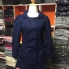 M | LADY DARK BLUE WOOLEN COAT