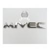 โลโก้สติกเกอร์ - Mitsubishi MIVEC English standard - โลโก้ MITSUBISHI MIVEC