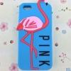 เคส iphone 6 ขนาด 4.7 นิ้ว เคส วิคตอเรีย ซีเคร็ท Pink สีฟ้า น้ำทะเล ลาย นกฟลามิงโก้ เคสลาย แปลก หายาก 763134_2
